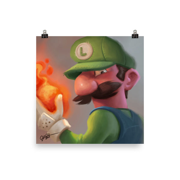 Fire Power Luigi