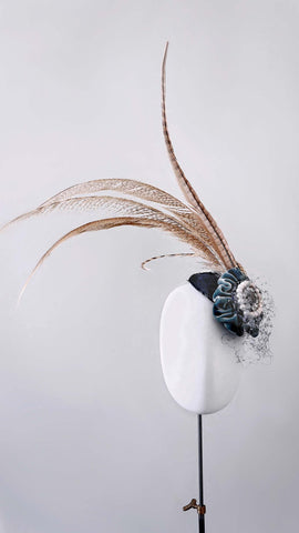 Long feather Headpiece