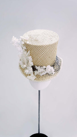 Lily of the Valley Straw Hat
