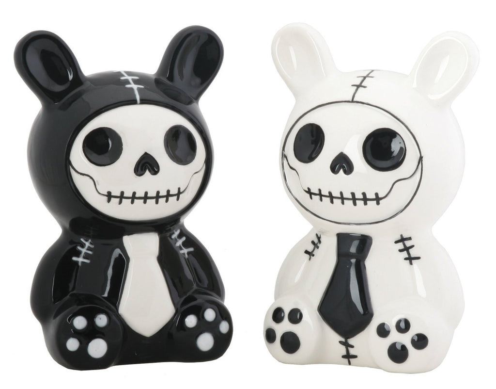 Salt and Pepper Shakers for the Grim at Heart