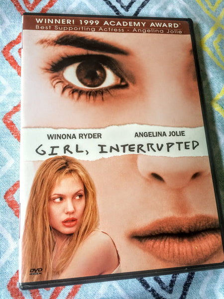 Girl, Interrupted - DVD (USA) starring Winona Ryder, Angelina Jolie