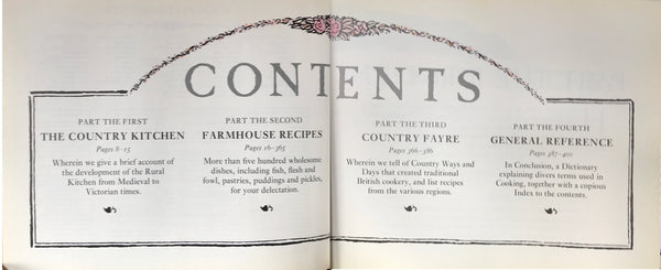 British Cookbook: Farmhouse Cookery