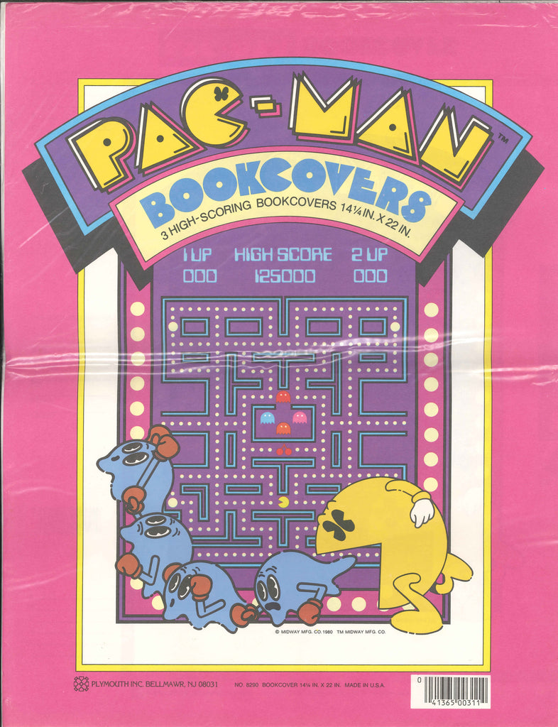 80s Pac Man Book covers