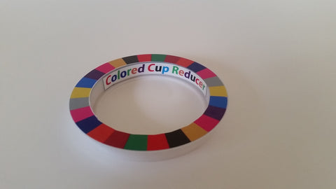 Colored Cup Reducer/golf putting aids/ putting training tool - Perfect Practice Putting