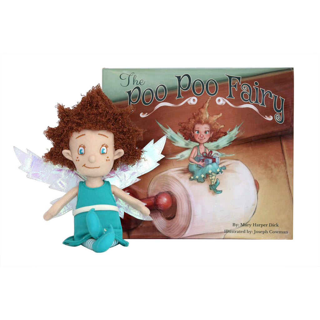 The Poo Poo Fairy - Box Set with Illustrated Storybook and Doll