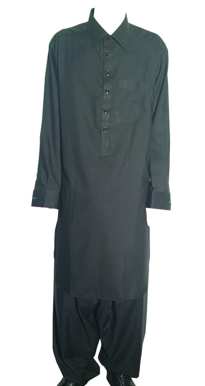 Black Men Afghani Clothing