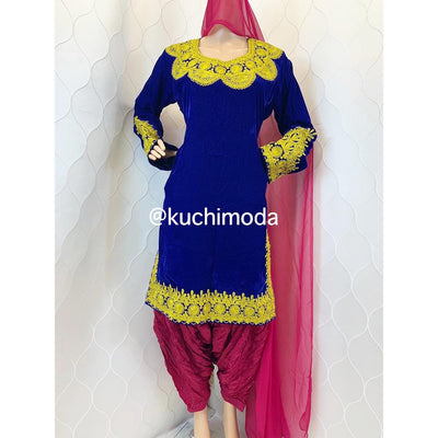 Kameez Partug Afghan Dress