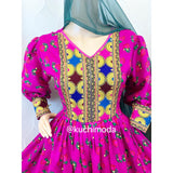 Aylin Afghan Dress