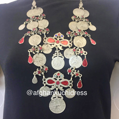 Nagina Afghan Coin Necklace