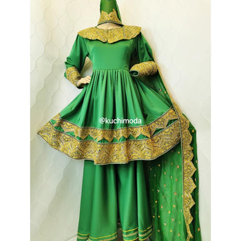 Neda Afghan Kuchi Dress