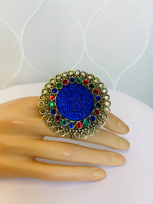 Large Afghan Ring