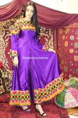 Viola Afghan Slit Dress