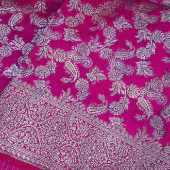 Afghan Wedding Pink Shawl