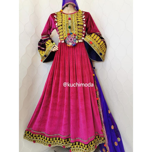 Dina Afghan Kuchi Dress
