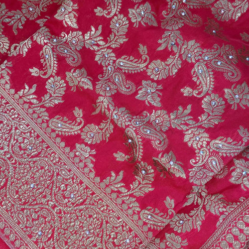 Afghan Wedding Red Shawl