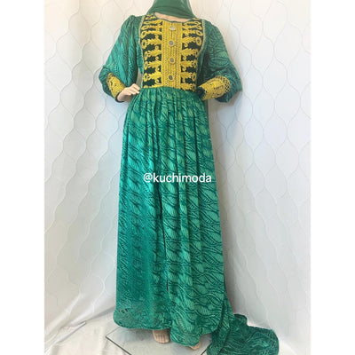 Lida Afghan Kuchi Dress