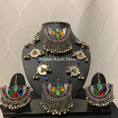 Sophia Afghan Jewellery Set