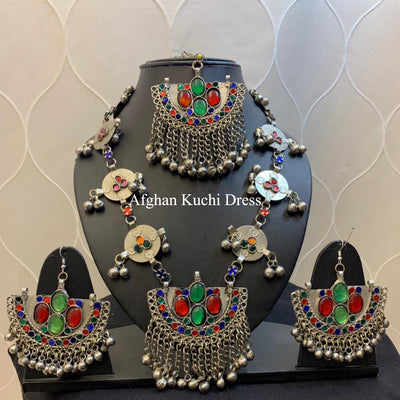 Mila Afghan Jewellery Set
