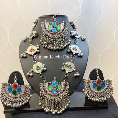 Stella Afghan Jewellery Set