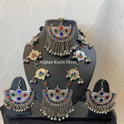 Nora Afghan Jewellery Set