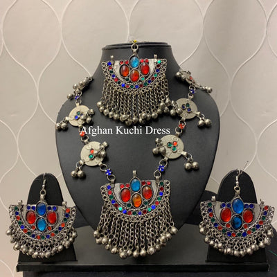 Mia Afghan Jewellery Set