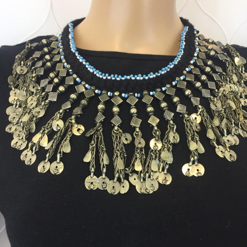 Zila Afghan Kuchi Necklace