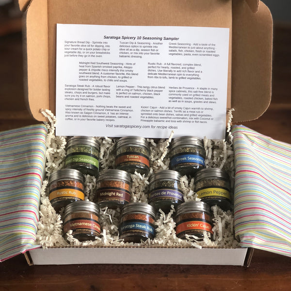 10 Seasoning Sampler
