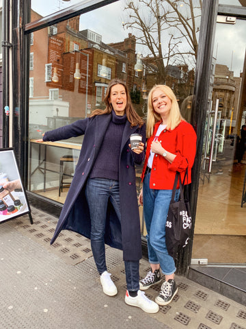 CPRESS store employees international women's day Fulham road coffee and juice bar
