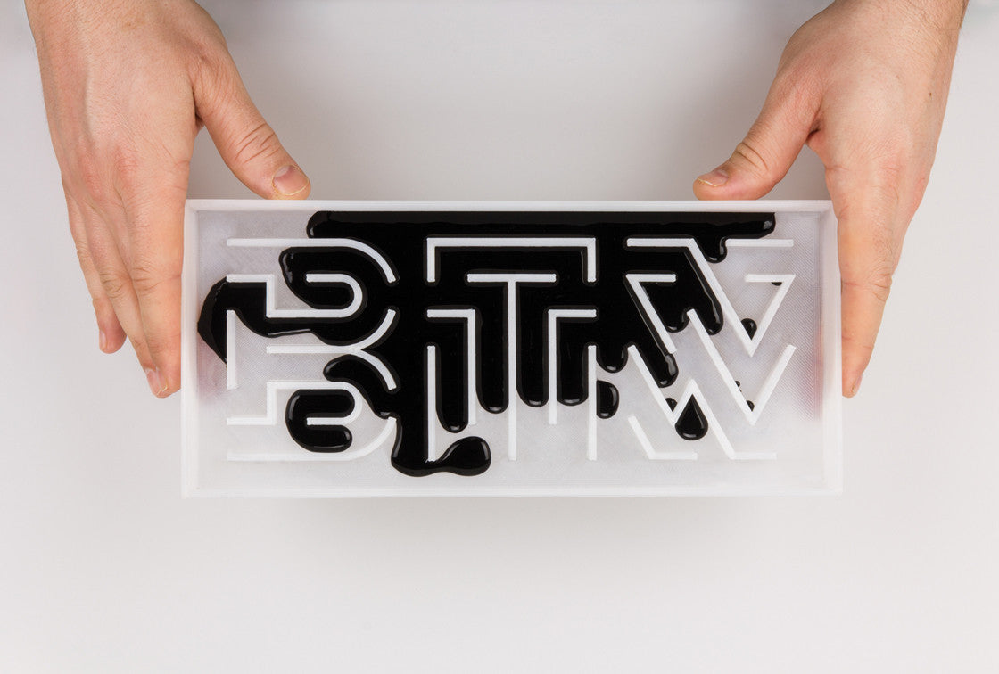 Material Behaviour Typography by Thomas Wirtz