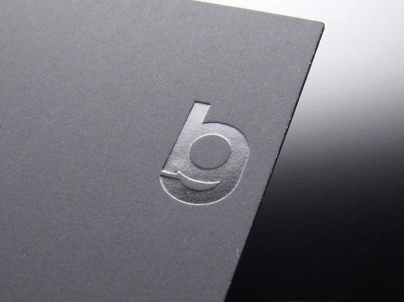 Silver foil blocked business card by Ben Gleadall 3
