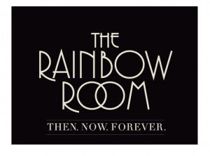 The Rainbow room restaurant logo