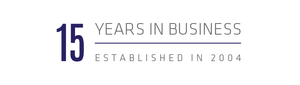 15 years in Business Banner