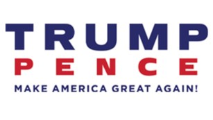 Trump-Pence presidential election logo