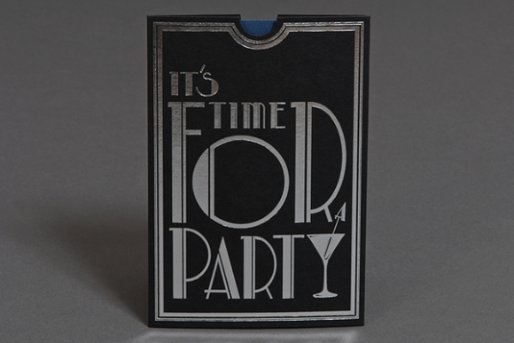 Bloomsbury Party Invite by James Ritchie 3