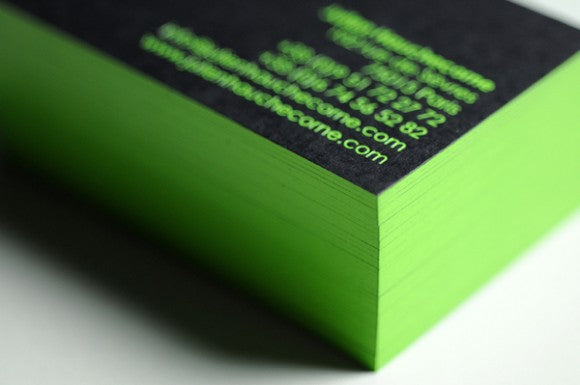 Julien Hauchecorne business cards by Dennis Mallet 2