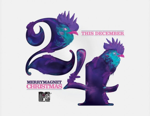 THE EARLY BIRD CATCHETH THE WORM Christmas project 2