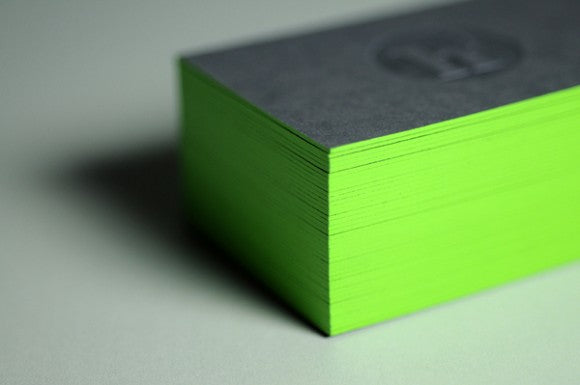 Julien Hauchecorne business cards by Dennis Mallet 1