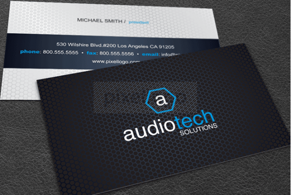 Business Card 54 by Pixellogo