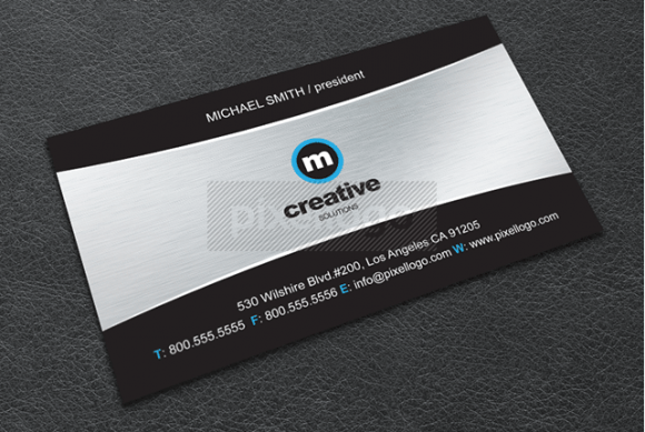 Business Card 74 by Pixellogo