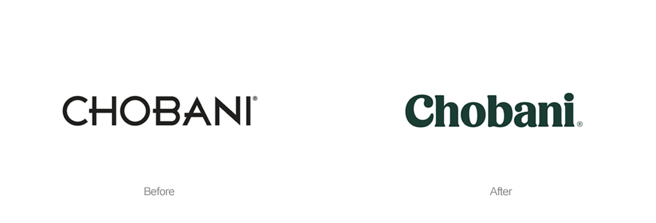 Chobani New logotype
