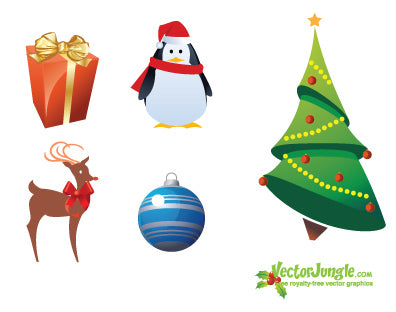 Christmas Graphics by Vector Jungle