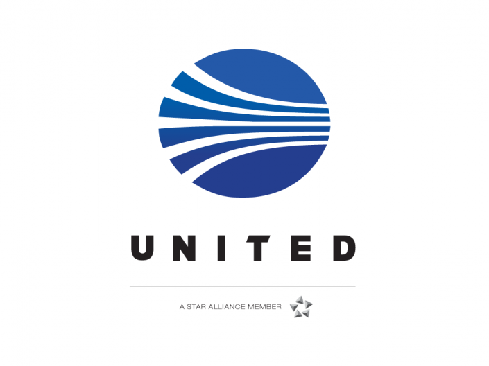 united continental airlines merge and launch a new logo design
