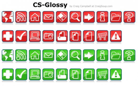 free vector icons by Craigsoup.com