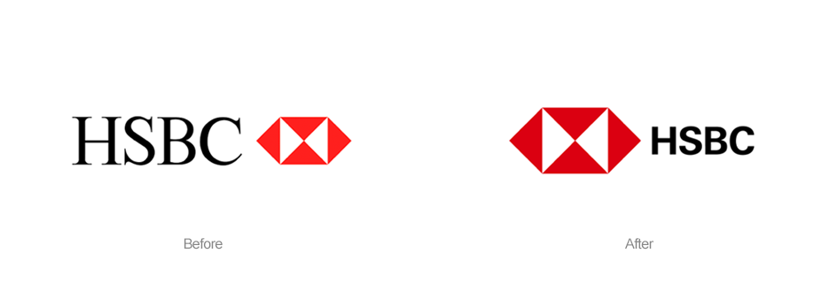 HSBC New logo design
