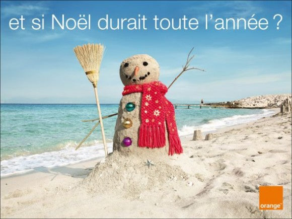 ORANGE NOEL Christmas ad