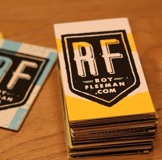 Roy Fleeman Business Card