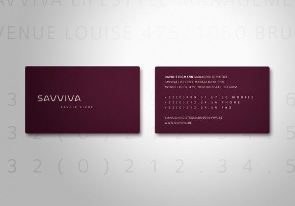 Business card design showcase savviva business card design colourmoves Choice Image