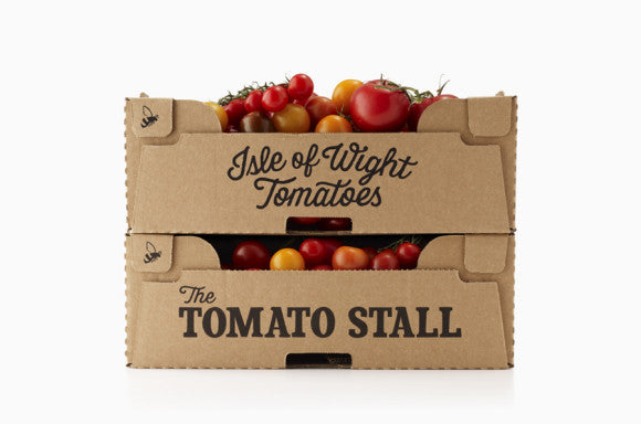 The Tomato Stall Crate Packaging