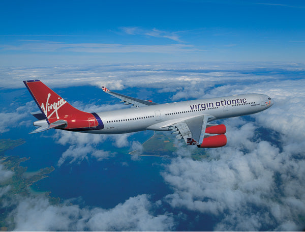 Old Virgin Atlantic airplane