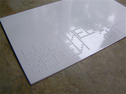 braille business-cards-design